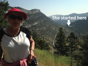80 year old hiker